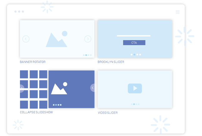 shopify Banner Slider app offers many beautiful slider styles to select