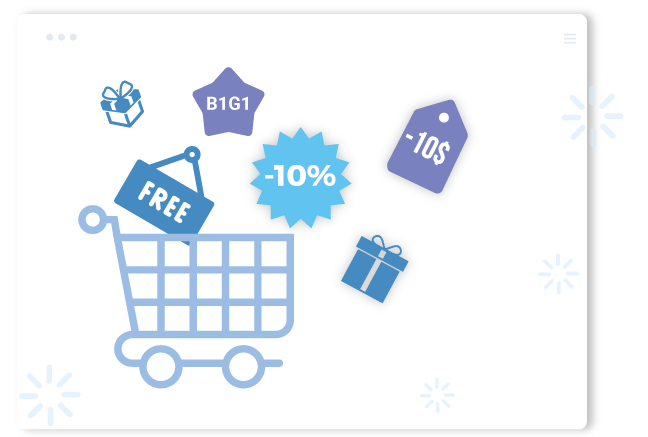 shopify Free Gifts app provides many kinds of offers