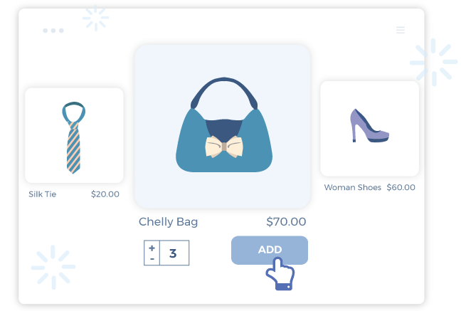 quick add feature of shopify quick view app to quickly order product on collection page