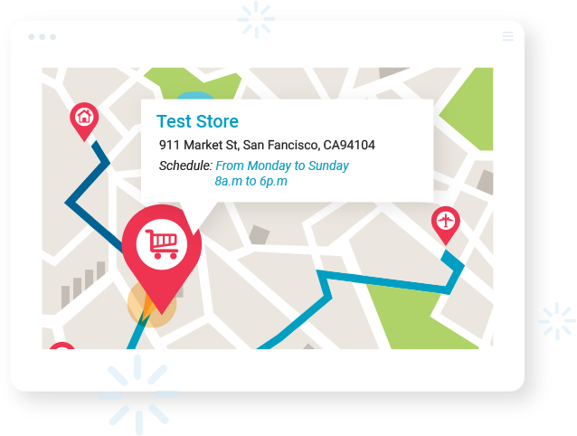 With Shopify Store Locator app, customers can view opening time