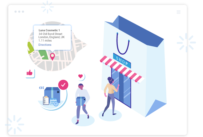 Shopify Store Pickup & Delivery Date App provides In-Store Pickup Option.
