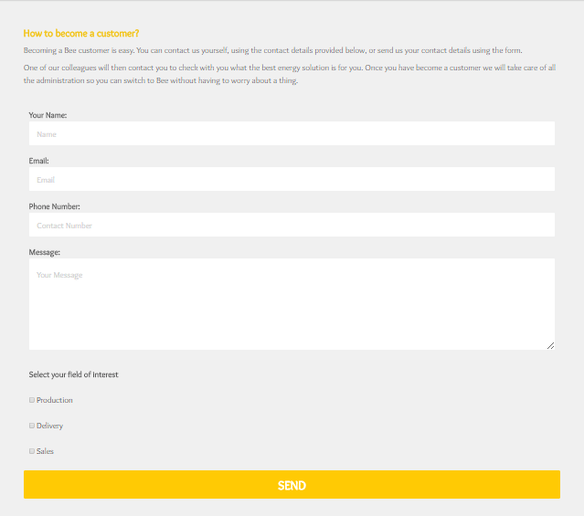 shopify custom form