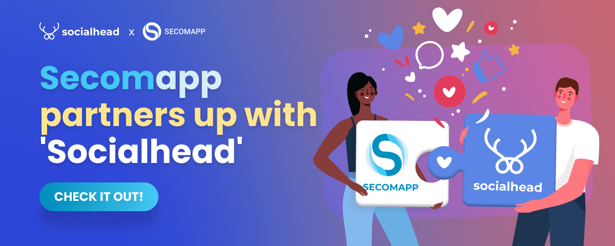 secomapp & social head partnership